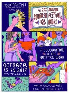 Southern Festival of Books | leahdecesare.com