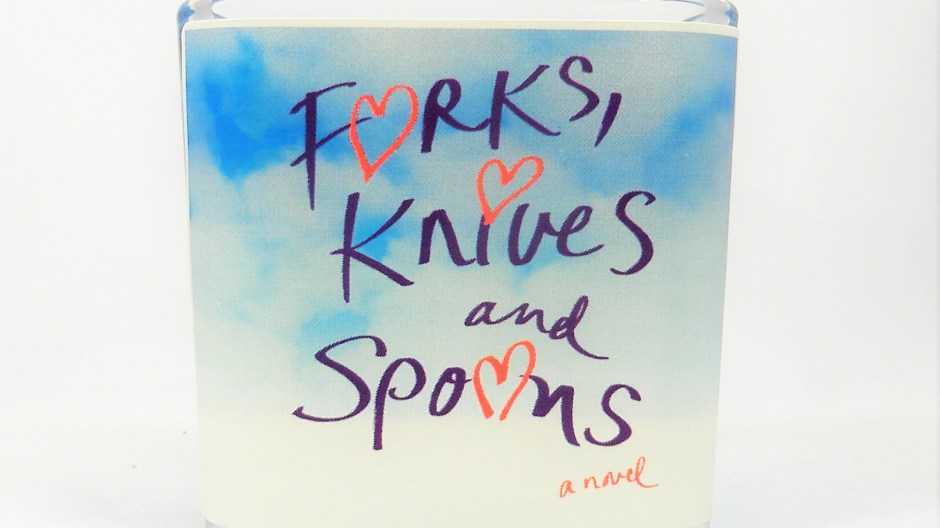 Forks Knives and Spoons Candle to benefit Kampala Childrens Centre for Hope and Wellness | leahdecesare.com