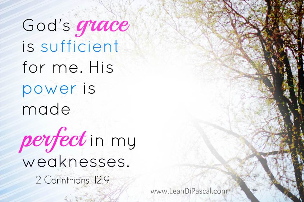 My Weakness ~ God's Power