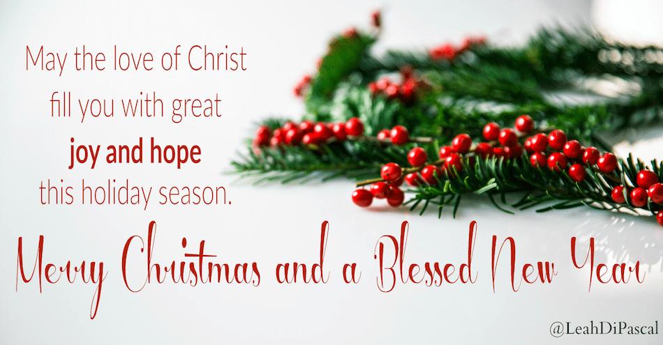 The Hope & Joy of Christmas - Leah DiPascal