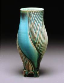 Footed Vase