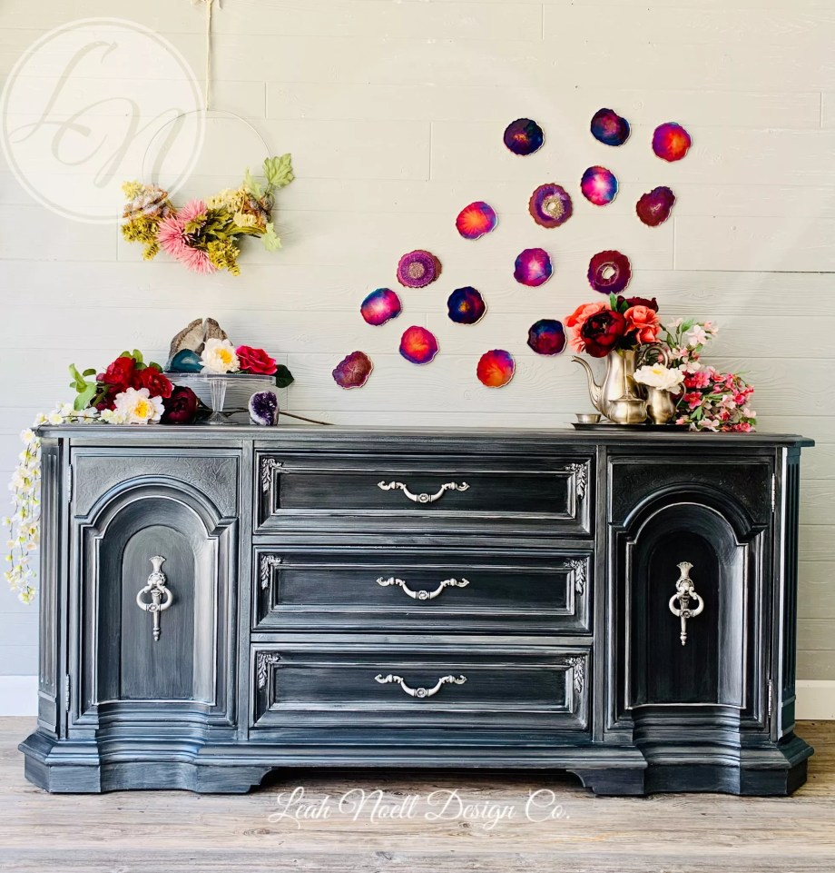 Black Buffet makeover