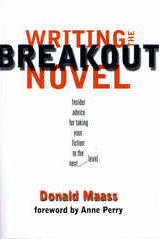 Book Cover Writing the Breakout Novel by Donald Maass