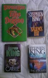 Covers Eyes of the Dragon 'Salem's Lot Carrie Bag of Bones