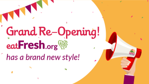 EatFresh.org has a brand new style!