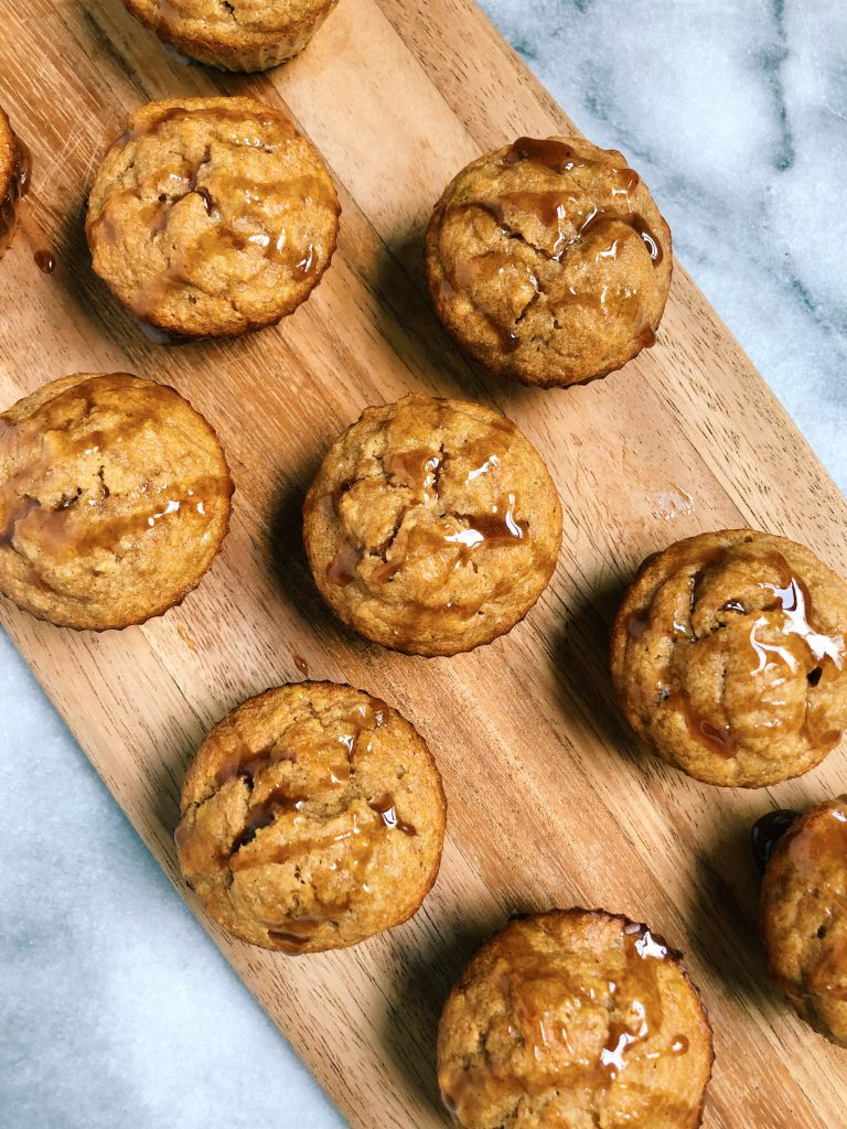 cacao honey banana muffins 768x1024 - Cacao Honey Banana Muffins (Gluten-Free)