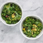 Detoxifying Vegan Kale Salad by Leah's Plate