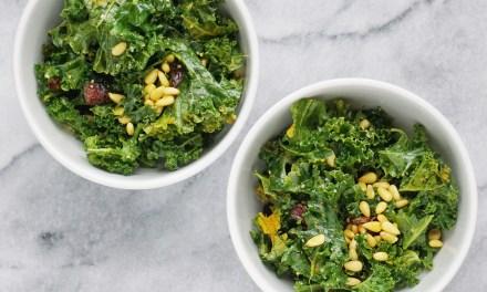 Detoxifying Vegan Kale Salad