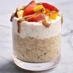 Peachy Oat Yogurt Parfait by Leahs Plate8 - Peach Oat Yogurt Parfait