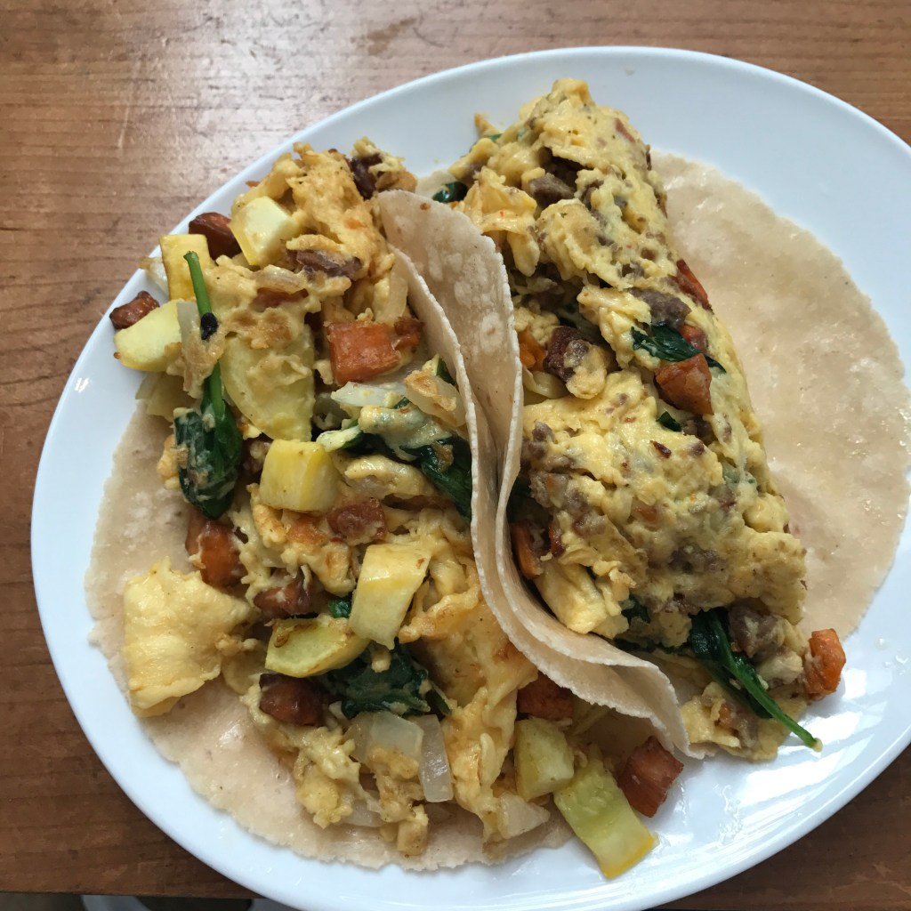 breakfast tacos at picnik 1024x1024 - Healthy Weekend in Austin: Recap