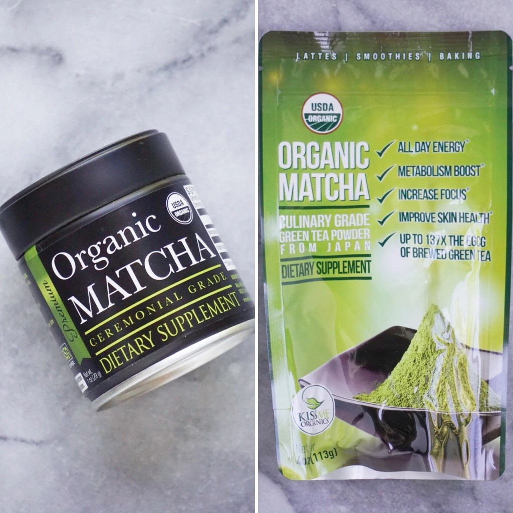 ceremonial vs culinary matcha 1024x1024 - Chatting about Ceremonial Matcha vs Culinary Matcha + A Recipe Using Each!