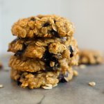 Blueberry Oatmeal Cookies2 - Blueberry Honey Oat Breakfast Cookies (Gluten-Free)