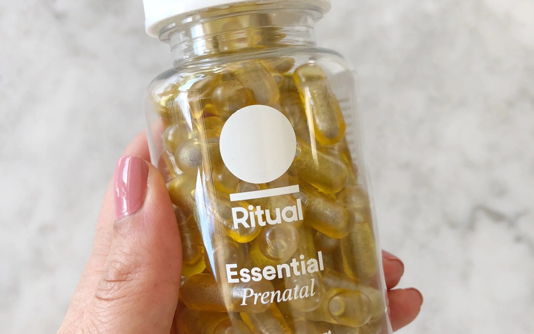 Ritual's NEW Prenatal Vitamin That I'm Obsessing Over!