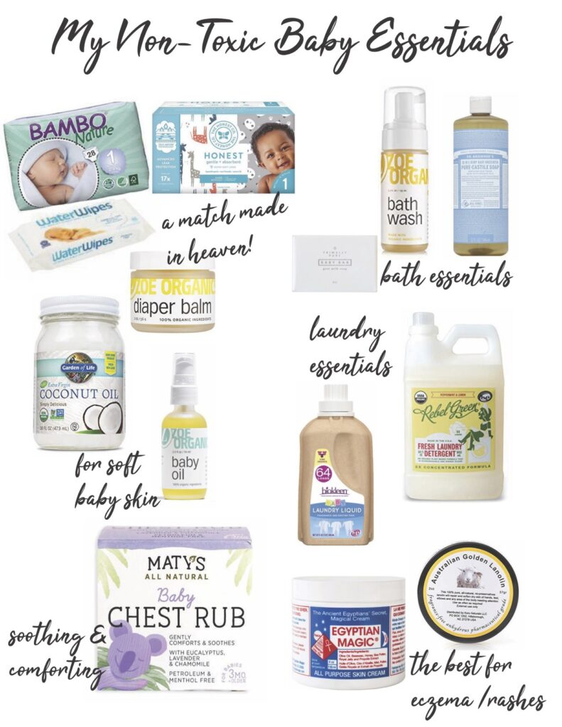 Non Toxic Baby Essentials 791x1024 - My Favorite Non-Toxic Baby Products