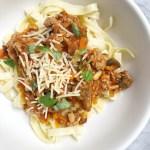 Healthy Veggie-Packed Bolognese
