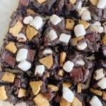 brownies3 scaled - S'Mores Brownies (Vegan & Gluten-Free)