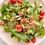 salad scaled - My Favorite Simple Salad + Homemade Dressing (Vegan)