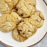 Maple Sea Salt Chocolate Chip Cookies6 scaled - The Most AMAZING Vegan Maple Sea Salt Chocolate Chip Cookies!!