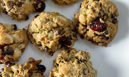 trail mix cookies 4 scaled - Recipes