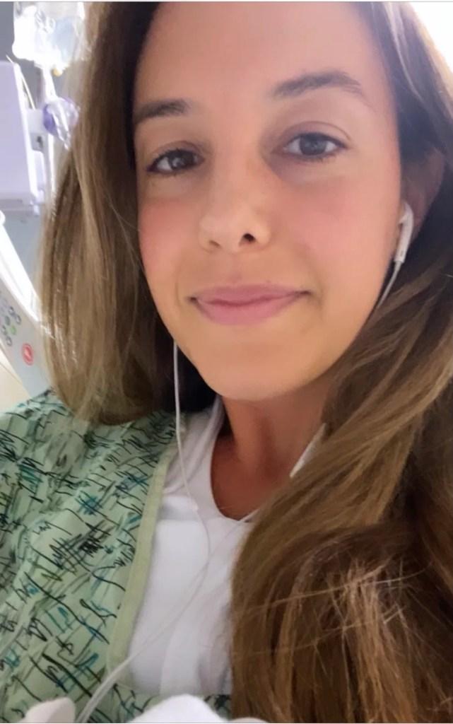 hospital 641x1024 - I had a double mastectomy at age 34