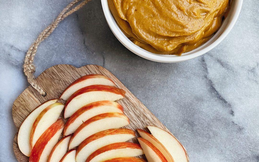 Peanut Butter Pumpkin Dip (Vegan & Gluten-Free)