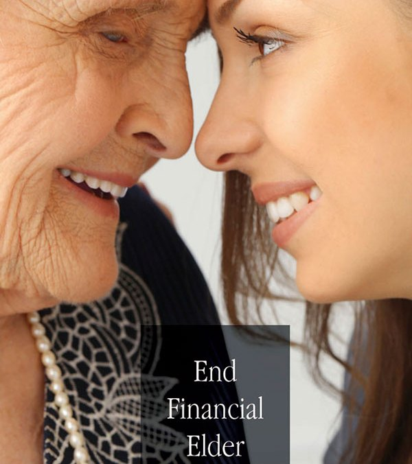 End Financial Elder Abuse brochure cover