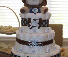 Diaper Cake…Check!