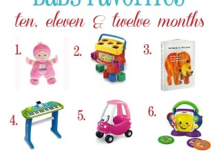 Baby Favorites 10-12 Months