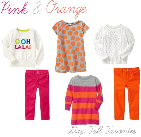Pink & Orange Gap