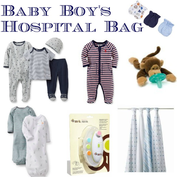 baby boy hospital bag
