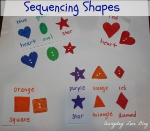 sequencing shapes