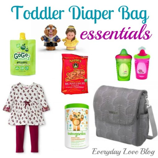 toddler diaper bag essentials