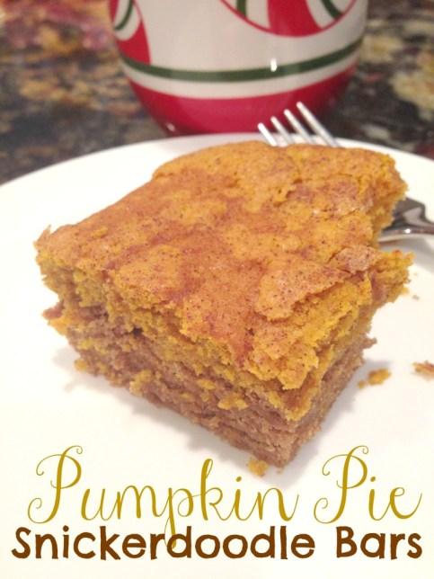 pumpkin pie snickerdoodles