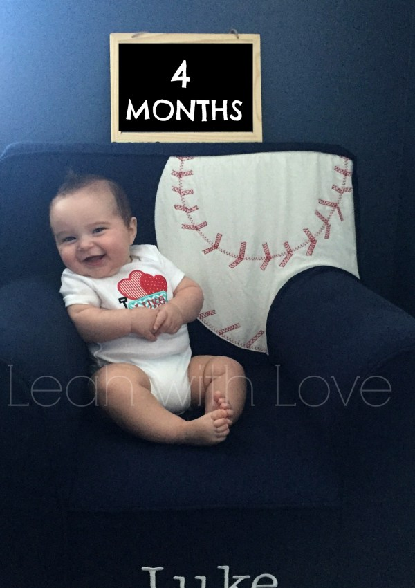 Protected: L is 4 months old!