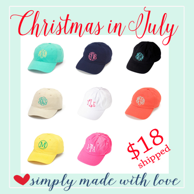 christmas in july hats