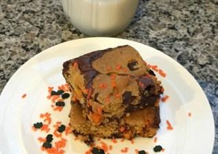 Pumpkin Chocolate Chip Brookies
