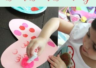 Valentine's Day Art & Books for Littles