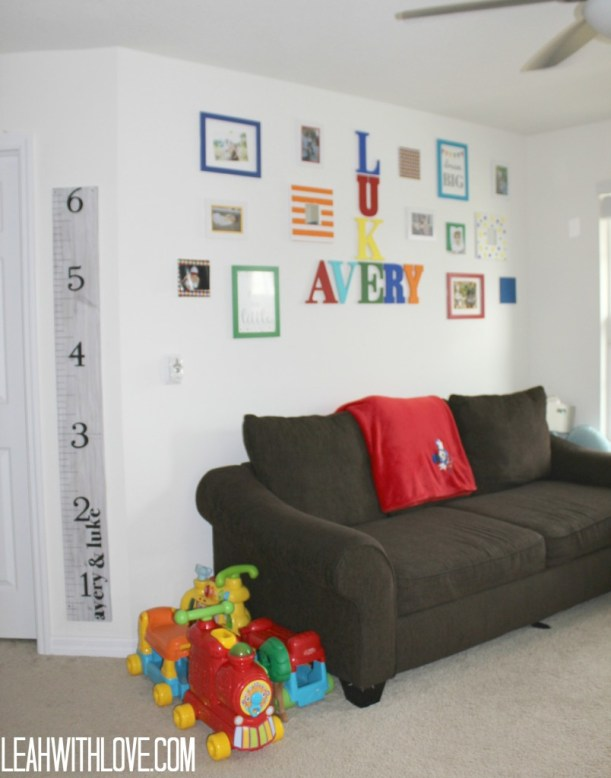 fun playroom decor