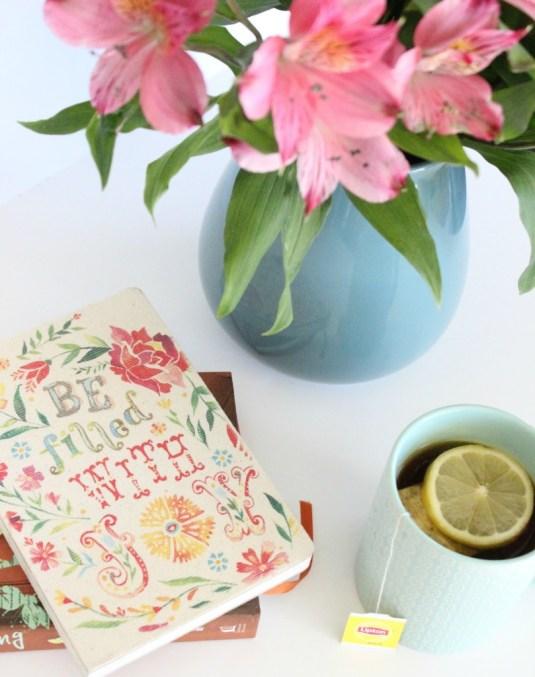 lipton tea time flowers