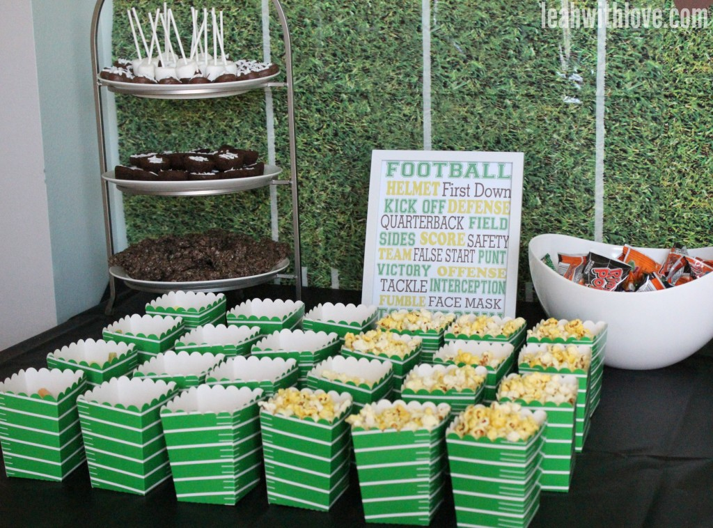football party concessions