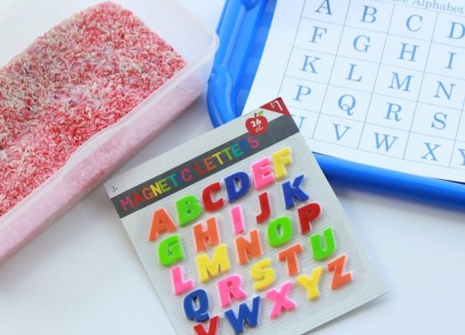 alphabet mats 1