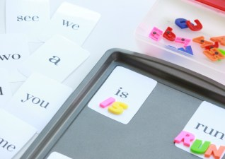Pre-K Sight Word Cards + Activity