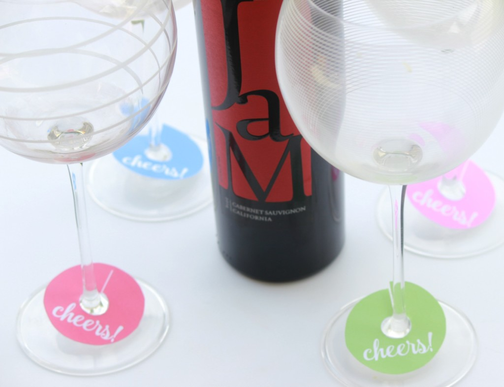 picture regarding Printable Wine Glass Tags known as Summer time Fun + Printable Wine Gl Tags - Leah With Appreciate