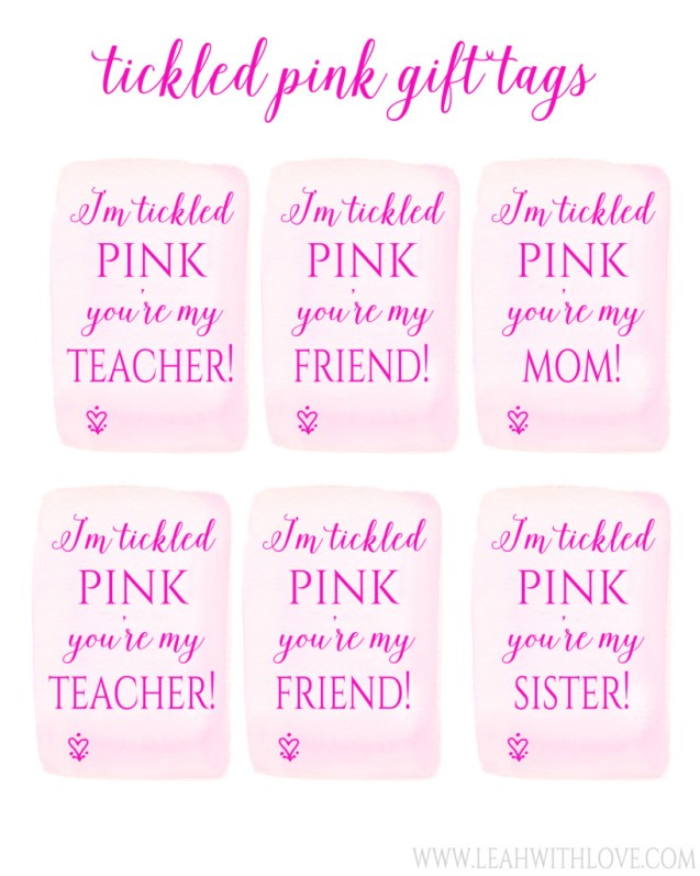 tickled pink tags