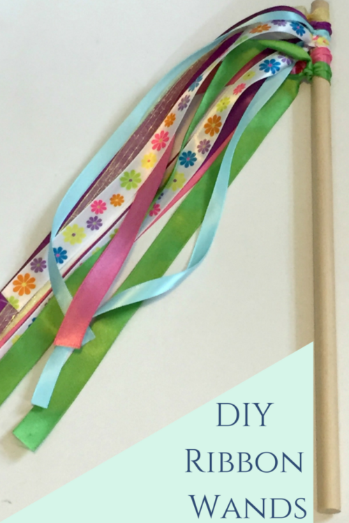 DIY Ribbon Wands