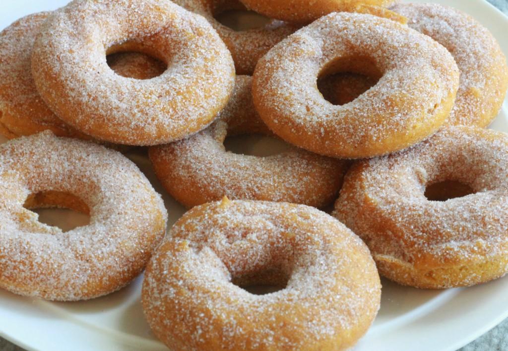 pumpkin donuts 2