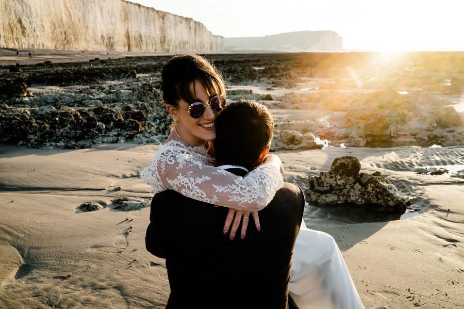 mariages sauvages au bord de la mer