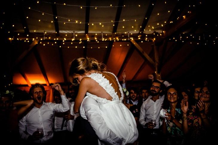 Mariage bohème au cap ferret
