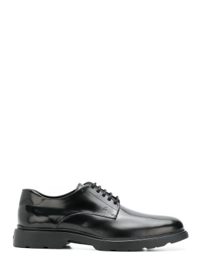 Derby leather black
