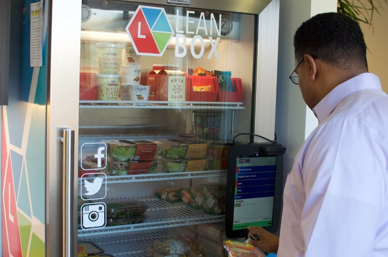 Is That A Salad In A Vending Machine? Healthy Corporate